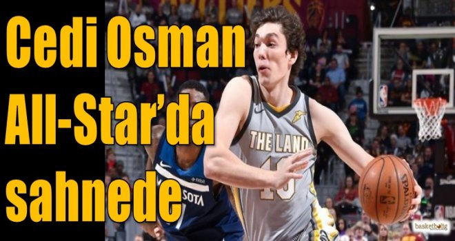 Cedi Osman All-Star'da sahnede...