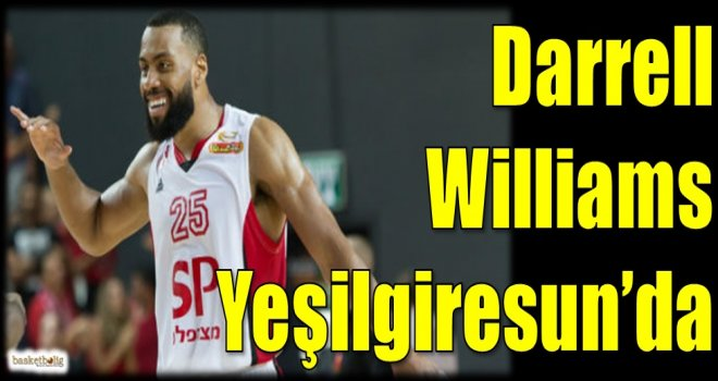 Darrell Williams Yeşilgiresun'da