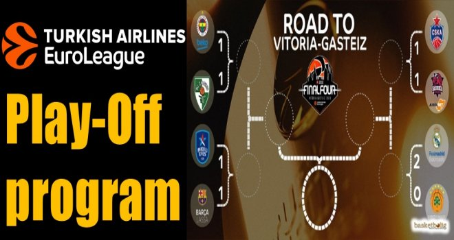 Euroleague Play-Off program