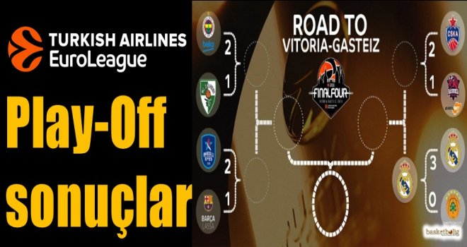 Euroleague Play-Off sonuçlar