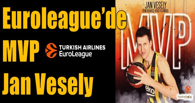 Euroleague'de MVP Jan Vesely