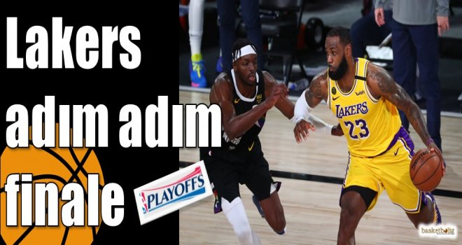 Lakers adım adım finale