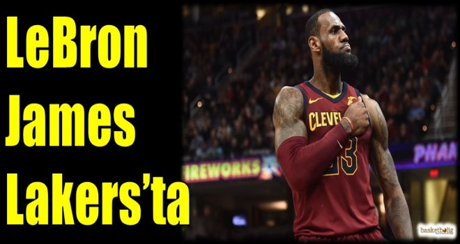 LeBron James Lakers'ta
