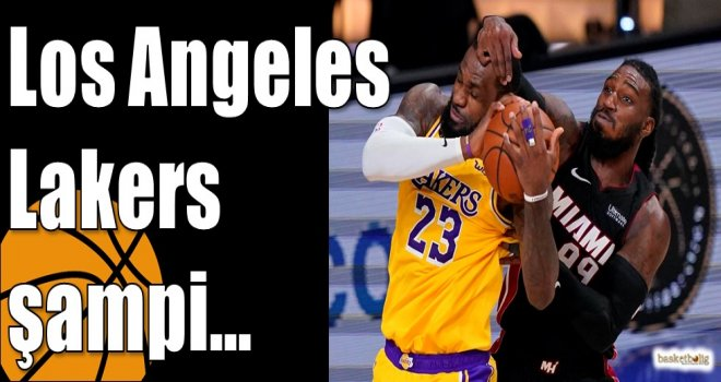 Los Angeles Lakers şampi…