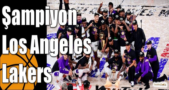 Şampiyon Los Angeles Lakers